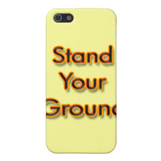 Stand Your Ground fire Cover For iPhone SE/5/5s