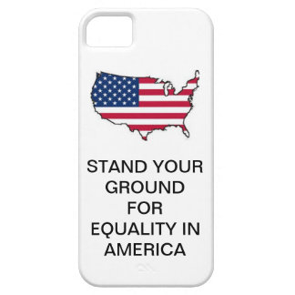 STAND YOUR GROUND FOR EQUALITY IN AMERICA FONECASE iPhone SE/5/5s CASE