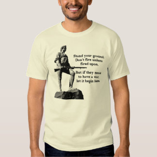 Stand Your Ground Tee Shirt