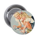 Standard, 2 ¼ Inch round Button Vintage By Resign