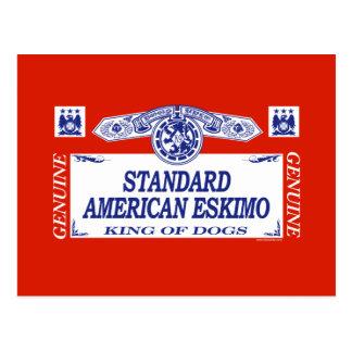 Standard American Eskimo Postcard