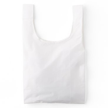 Beach Themed Standard BAGGU Reusable Bag, White Reusable Bag
