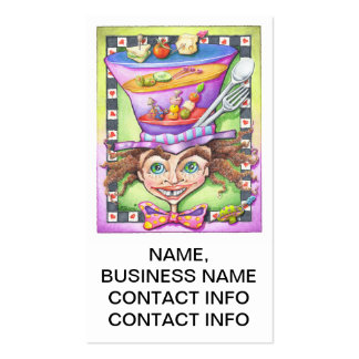 STANDARD BUSINESS CARD - THE MAD PLATTER