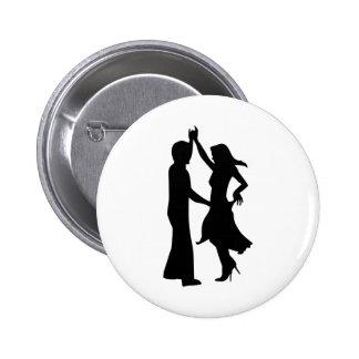 Standard dancing couple buttons