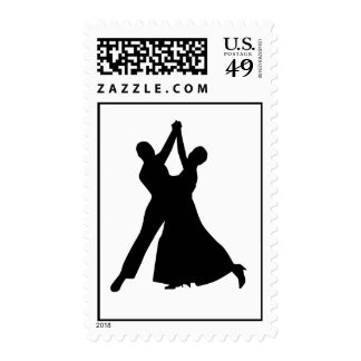 Standard dancing postage stamp