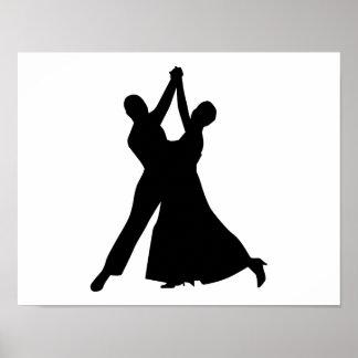 Standard dancing poster