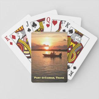 Standard Deck of Cards - Port O'Connor, TX sunrise