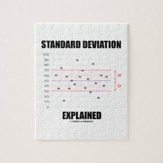 Standard Deviation Explained Jigsaw Puzzle