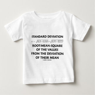 Standard Deviation Root-Mean-Square Definition Baby T-Shirt