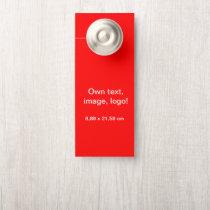 Standard Door Hangers Small uni Red