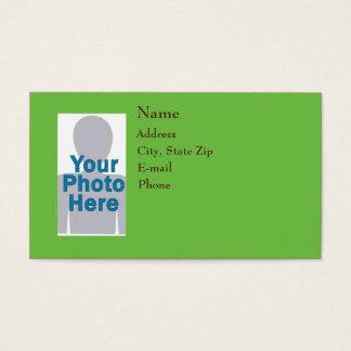 Standard Green Business Card