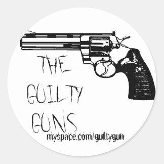 Standard Guilty Guns Sticker