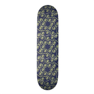 standard in geometric forms skate board deck