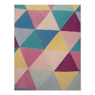 standard in triangles card