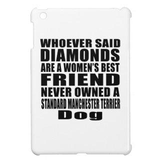 STANDARD MANCHESTER TERRIER DOG BEST FRIEND DESIGN iPad MINI CASES