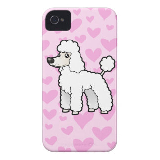 Standard/Miniature/Toy Poodle Love Case-Mate iPhone 4 Case