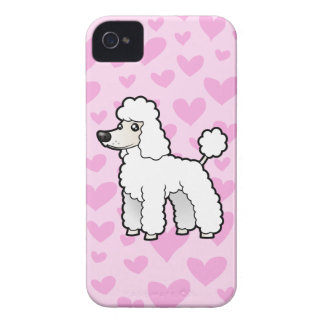 Standard/Miniature/Toy Poodle Love iPhone 4 Cover