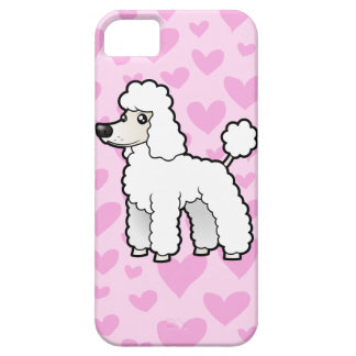 Standard/Miniature/Toy Poodle Love iPhone SE/5/5s Case