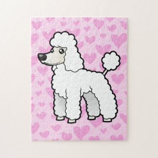 Standard / Miniature / Toy Poodle Love Jigsaw Puzzle