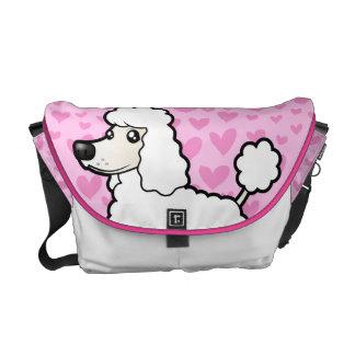 Standard/Miniature/Toy Poodle Love Messenger Bag