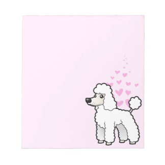 Standard / Miniature / Toy Poodle Love Scratch Pad