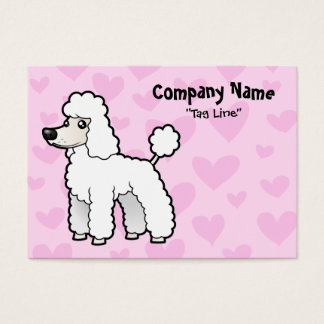 Standard/Miniature/Toy Poodle Love (puppy cut) Business Card