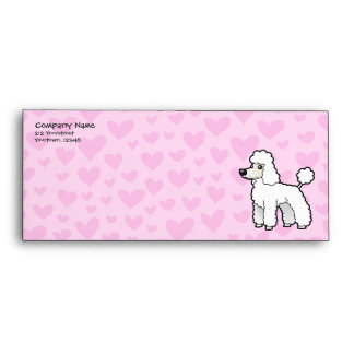 Standard/Miniature/Toy Poodle Love (puppy cut) Envelope