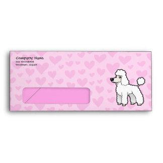 Standard/Miniature/Toy Poodle Love (puppy cut) Envelope