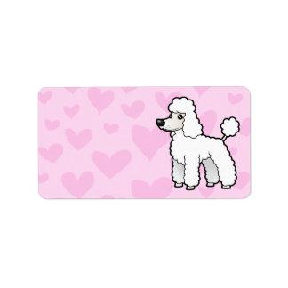 Standard/Miniature/Toy Poodle Love (puppy cut) Label
