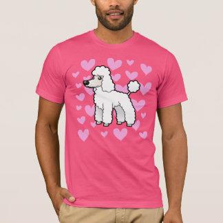 Standard/Miniature/Toy Poodle Love (puppy cut) T-Shirt