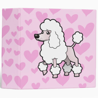 Standard/Miniature/Toy Poodle Love (show cut) Binders