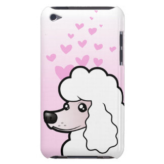 Standard/Miniature/Toy Poodle Love (show cut) Barely There iPod Cover