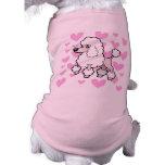 Standard/Miniature/Toy Poodle Love (show cut) Pet T Shirt