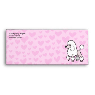 Standard/Miniature/Toy Poodle Love (show cut) Envelope