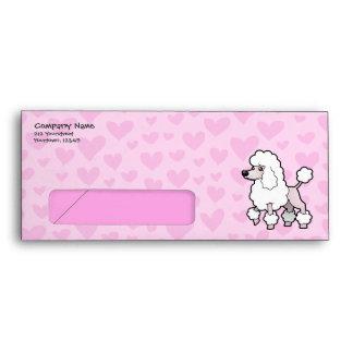 Standard/Miniature/Toy Poodle Love (show cut) Envelope