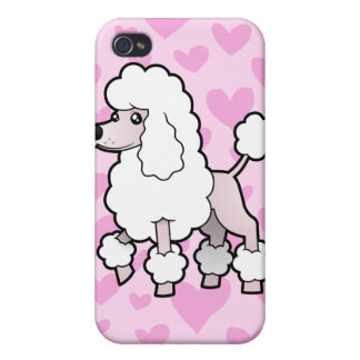 Standard/Miniature/Toy Poodle Love (show cut) iPhone 4/4S Case