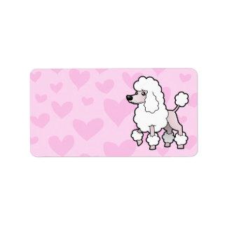 Standard/Miniature/Toy Poodle Love (show cut) Label