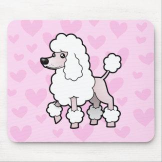 Standard/Miniature/Toy Poodle Love (show cut) Mouse Pad