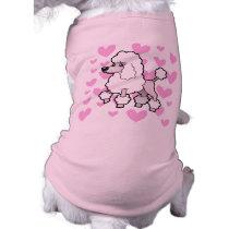 Standard/Miniature/Toy Poodle Love (show cut) Shirt