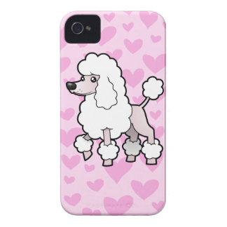 Standard/Miniature/Toy Poodle (show cut) Love Case-Mate iPhone 4 Case