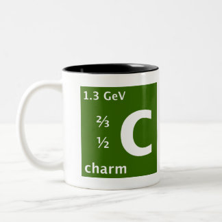 Standard Model (charm quark) Two-Tone Mug