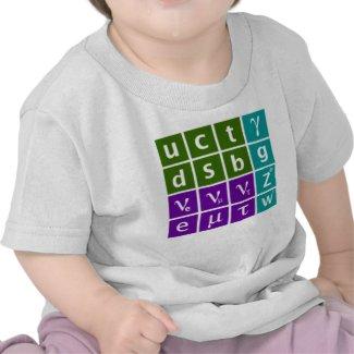 Standard Model (kids) T-shirts