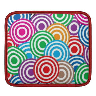 standard of circles iPad sleeves