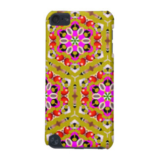 standard of flowers geometric forms iPod touch (5th generation) cover