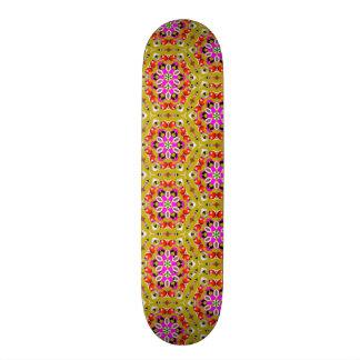 standard of flowers geometric forms skateboard deck
