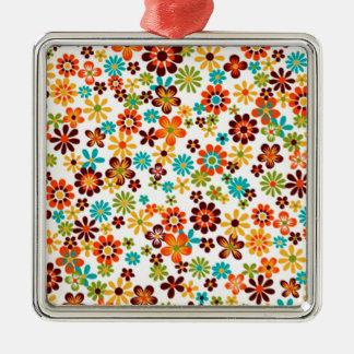 standard of flowers metal ornament