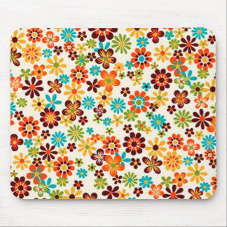 standard of flowers mouse pad