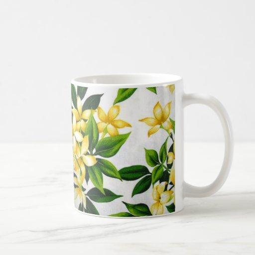standard of flowers coffee mugs