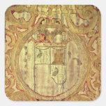 Standard of Francisco Pizarro Square Sticker