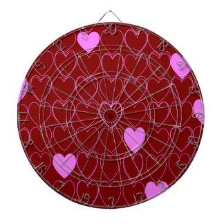 standard of hearts dart boards